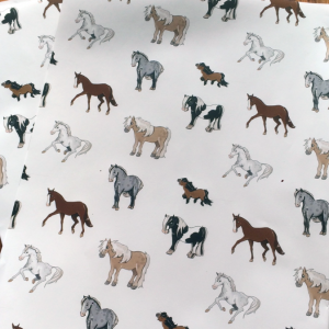 Forelock Pony: wrapping paper